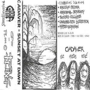 Cadaver - Sunset at Dawn cover art