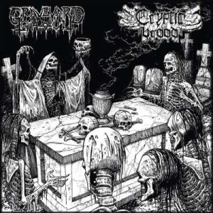 Graveyard Ghoul / Cryptic Brood - The Graveyard Brood cover art