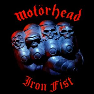 Motorhead - Iron Fist cover art