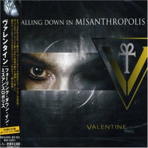 Valentine - Falling Down in Misanthropolis cover art