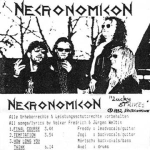 Necronomicon - Lucky Strikes cover art