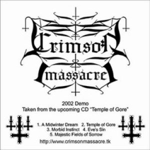 Crimson Massacre - 2002 Demo cover art
