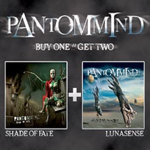 Pantommind - Shade of Fate + Lunasense cover art