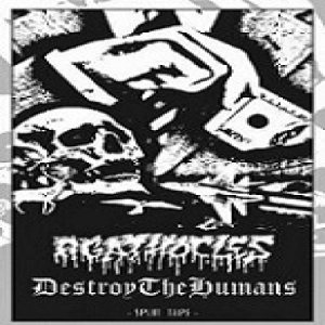 Agathocles / DestroyTheHumans - Split Tape cover art