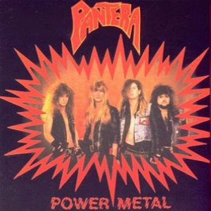 Pantera - Power Metal cover art