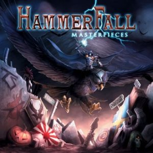Hammerfall - Masterpieces cover art