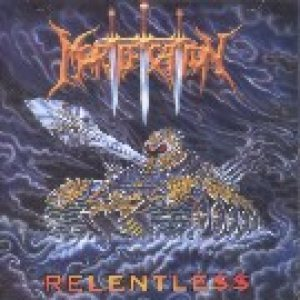 Mortification - Relentless cover art