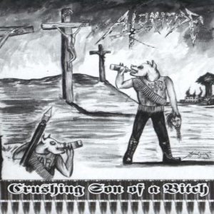 Atomicide - Crushing Son of a Bitch cover art