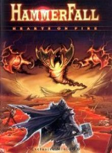 HammerFall - Hearts on Fire cover art