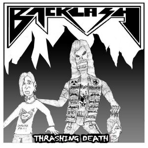 Backlash - Thrashing Death cover art
