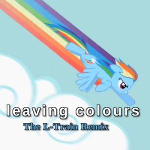 The L-Train - Leaving Colours (Feather cover) cover art