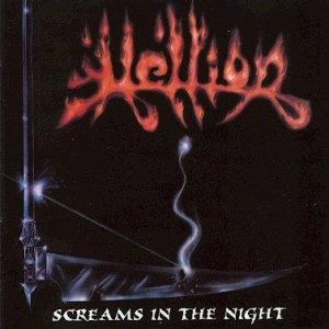 Hellion - Screams in the Night cover art