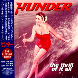 Thunder - The Thrill of It All cover art