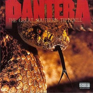 Pantera - The Great Southern Trendkill cover art