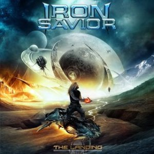 Iron Savior - The Landing cover art