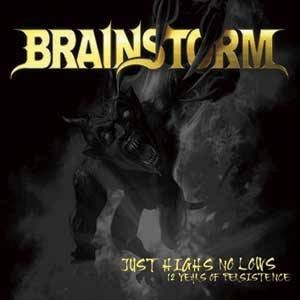 Brainstorm - Just Highs No Lows (12 Years of Persistence) cover art