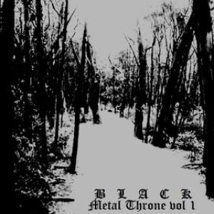 Slaughtered Priest / Kvele / Sad / Nargothrond - Black Metal Throne vol. 1 cover art