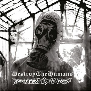 DestroyTheHumans - Hostis Humani Generis cover art
