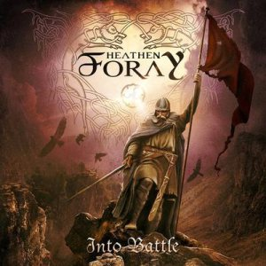 Heathen Foray - Into Battle cover art
