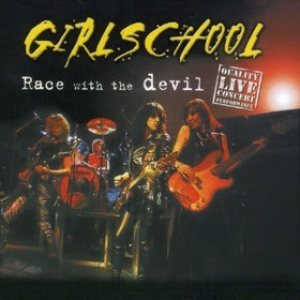Girlschool - Race with the Devil cover art