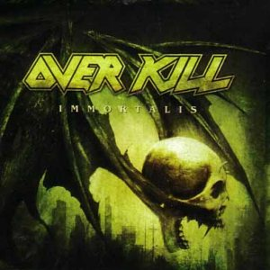 Overkill - Immortalis cover art