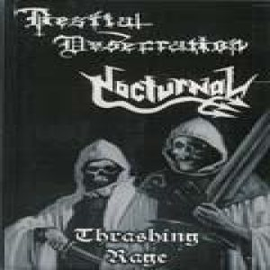 Nocturnal - Thrashing Rage cover art