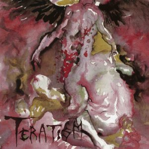Teratism - Service for the Damned cover art