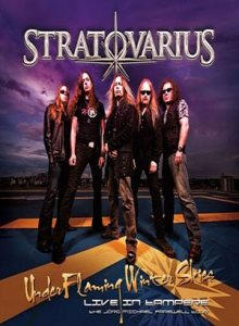 Stratovarius - Under Flaming Winter Skies – Live in Tampere cover art