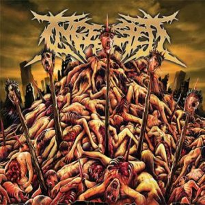 Ingested - Revered by No-One, Feared by All cover art