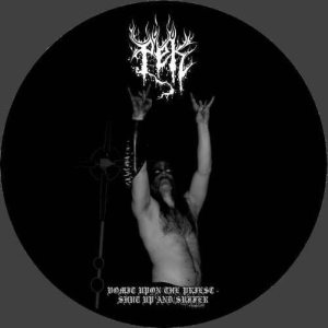 pek - Vomit upon the Priest - Shut Up and Suffer cover art