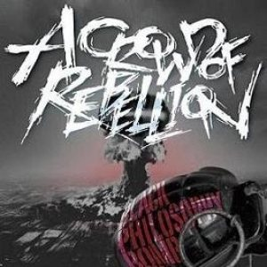 a crowd of rebellion - Black Philosophy Bomb cover art