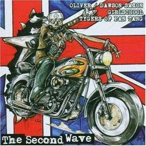 Girlschool / Tygers of Pan Tang / Oliver/Dawson Saxon - The Second Wave cover art