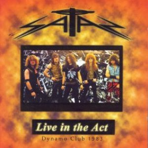 Satan - Live in the Act cover art