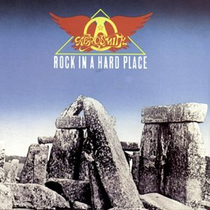 Aerosmith - Rock in a Hard Place cover art