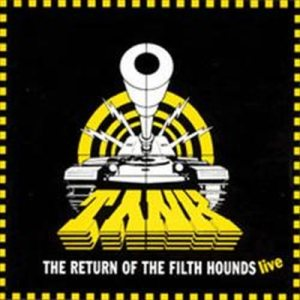 Tank - The Return of the Filth Hounds - Live cover art