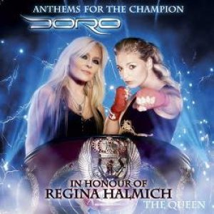 Doro - Anthems for the Champion - the Queen cover art