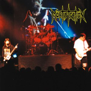 Mortification - 10 Years Live Not Dead cover art