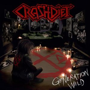 Crashdïet - Generation Wild cover art