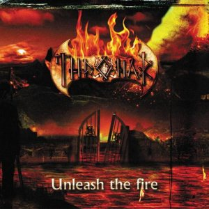Thronar - Unleash the Fire cover art