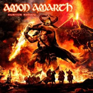 Amon Amarth - Surtur Rising cover art