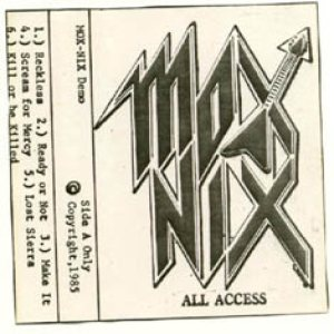 Mox Nix - All Access cover art