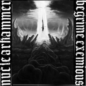 Nuclearhammer / Begrime Exemious - Heretical Serpent Cult cover art