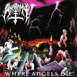 Anatomy - Where Angels Die cover art