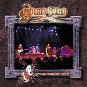 Symphony X - Live on the Edge of Forever cover art