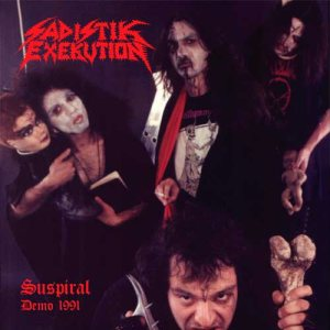 Sadistik Exekution - Suspiral Demo 1991 / Murder in the Dark cover art