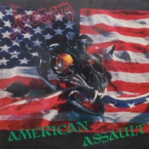 Venom - American Assault cover art