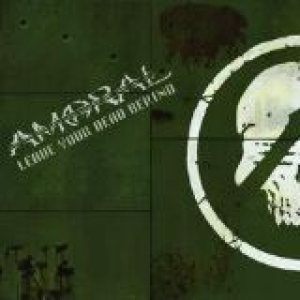 Amoral - Leave Your Dead Behind / the Naked Sun cover art