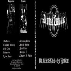 Demonic Cremator - Blizzards of Hate cover art
