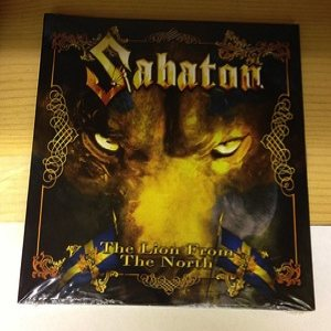 Sabaton - The Lion From the North cover art