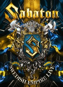 Sabaton - Swedish Empire Live cover art